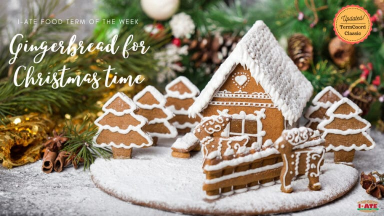I-ATE: Pierniki, Lebkuchen and some Christmas Gingerbread to celebrate the festive season