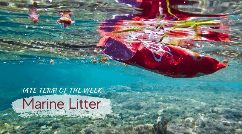 IATE Marine Litter feature