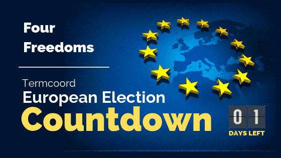 Termcoord European Election Countdown: Four Freedoms