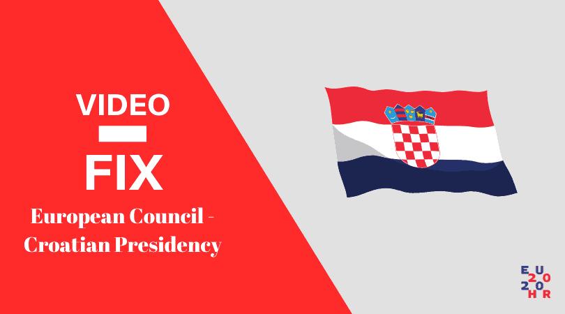 Video fix Croation Presidency feature