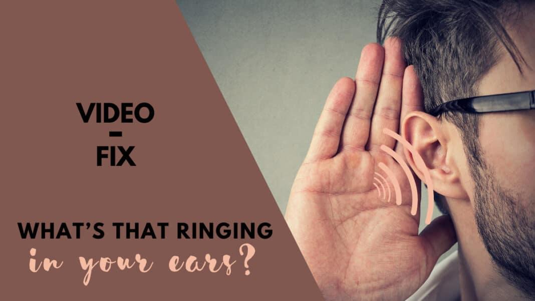 Video-Fix Tinnitus feature