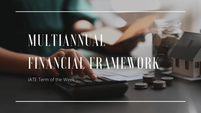 Multiannual Financial Framework