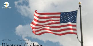 IATE Term of the Week Electoral College with Audio