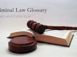Criminal Law Glossary