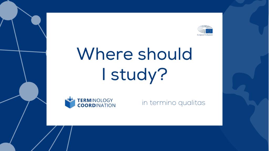 Where should I study