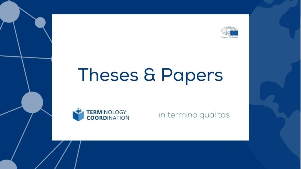 Theses & Papers