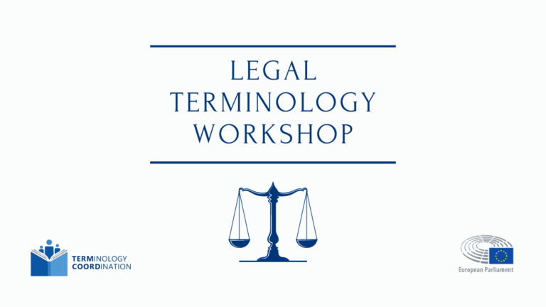 Legal Terminology Workshop