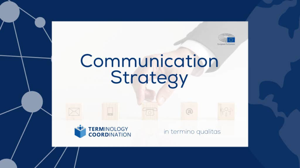 TermCoord Communication Strategy