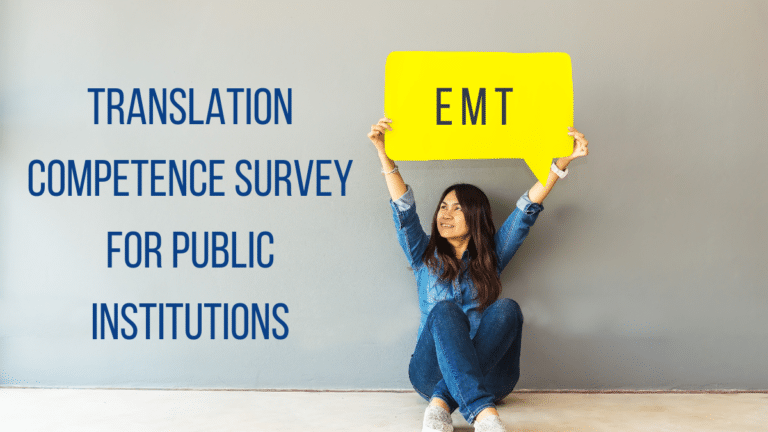 Translation competence survey for public institutions